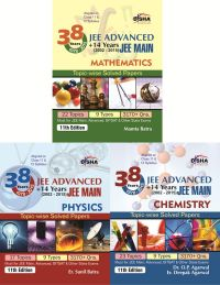 38 Years IIT-JEE Advanced + 14 yrs JEE Main Topic-wise Solved Paper (PCM) 11th Edition: Book by Dr. O. P. Agarwal, Er. Deepak Agarwal/ Er. Sunil Batra/ Mamta Batra