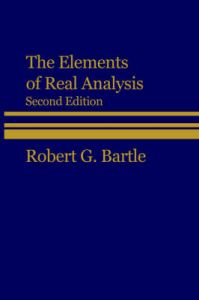 The Elements of Real Analysis | Book by Robert G  Bartle | Best