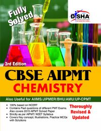 CBSE AIPMT Medical Entrance Chemistry - 3rd Edition (Must for AIIMS/AFMC/JIPMER): Book by Disha Experts