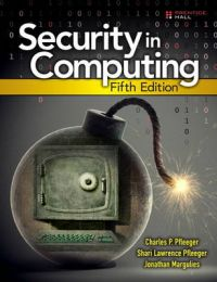 Security in Computing: Book by Charles P. Pfleeger