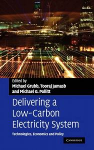 Delivering a Low Carbon Electricity System: Book by Michael Grubb, Tooraj Jamasb, Michael G. Pollitt