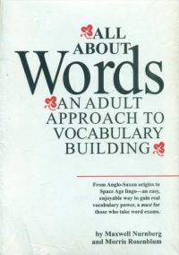 All about Words: Book by Maxwell Nurnberg