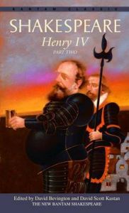 Henry IV: Part two: Book by William Shakespeare