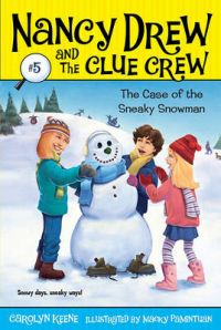Case of the Sneaky Snowman: Book by Carolyn Keene