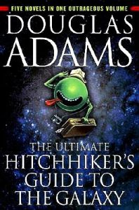 ULTIMATE HITCHHIKERS GUIDE TO THE GALAXY: Book by Douglas Adams