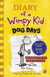 Diary of a Wimpy Kid : Dog Days (English) (Hardcover): Book by Jeff Kinney