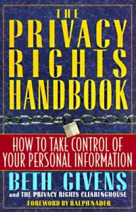 Privacy Rights Handbook: Book by Beth Givens