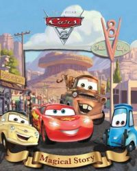 Disney Cars 2 Magical Story with Amazing Moving Picture Cover
