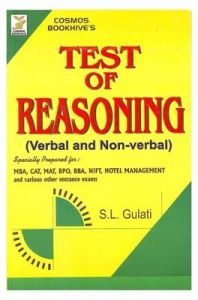 Test Of Reasoning Verbal & Non Verbal (Paperback): Book by Gulati Sl
