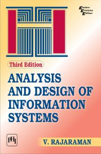 ANALYSIS AND DESIGN OF INFORMATION SYSTEMS: Book by V. Rajaraman