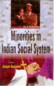 Minorities In Indian Social System (2 Vols.): Book by Joseph Benjamin