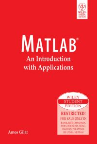 Matlab: An Introduction with Applications: Book by Gilat