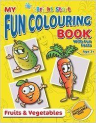 My Fun Colouring Book- Fruits & Vegetables (English) (Paperback): Book by Amar Chitra Katha
