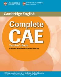 Complete CAE Teacher's Book: Book by Guy Brook-Hart