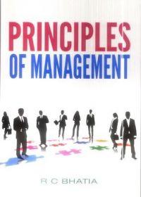 pricinples of management