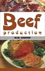 Beef Production: Book by Malcom Macgregor Cooper
