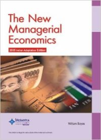 The New Managerial Economics (English) 01 Edition (Paperback): Book by William Boyes