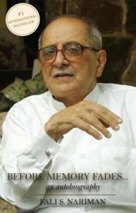 Before Memory Fades: An Autobiography (English) (Paperback): Book by Fali S. Nariman