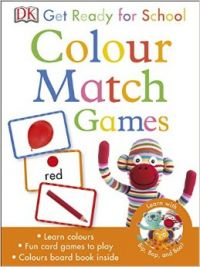 Get Ready For School Colour Match Games (English) (Cards)