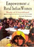 Empowerment of Rural Indian Women: Book by Zanib Rahman