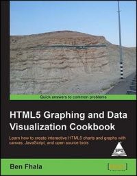 HTML5 Graphing and Data Visualization Cookbook (English) 1st Edition: Book by Ben Fhala