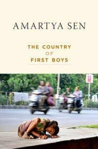 The Country of First Boys: Book by Amartya Sen, FBA