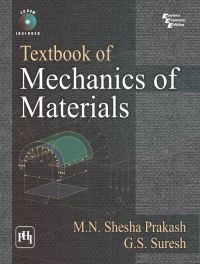 TEXTBOOK OF MECHANICS OF MATERIALS: Book by G.S. Suresh