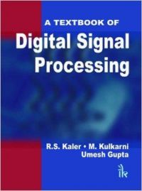 A Textbook of Digital Signal Processing: Book by B. Somanathan Nair
