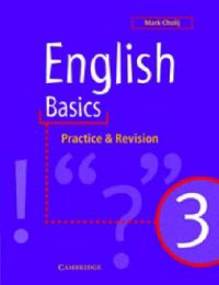 English Basics 3: Practice and Revision: Bk.3: English Basics: Book by Mark Cholij