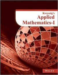 Kreyszig's Applied Mathematics - 1 (English) (Paperback): Book by Wiley India Editorial