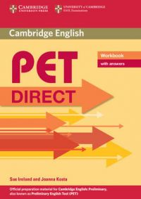 PET Direct Workbook with Answers: Book by Sue Ireland