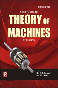 A Textbook of Theory of Machines: Book by J. S. Brar