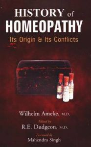 HISTORY OF HOMEOPATHY: Book by Wilhelm Ameke