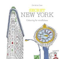 Secret New York : Colouring for Mindfulness (English) (Paperback): Book by Zoe De Las Cases