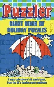 The Giant Book of Holiday Puzzles (English) (Paperback): Book by Puzzler Media