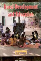 Rural Development And Education (2 Vols.): Book by M.L. Dhawan