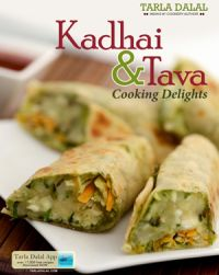 Kadhai and Tava Cooking Delights: Book by Tarla Dalal