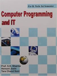 Computer Programming And It   Book by Sharma   Best Price in
