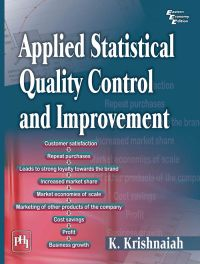 APPLIED STATISTICAL QUALITY CONTROL AND IMPROVEMENT: Book by KRISHNAIAH K.