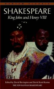 King John ; and, Henry VIII: Book by William Shakespeare