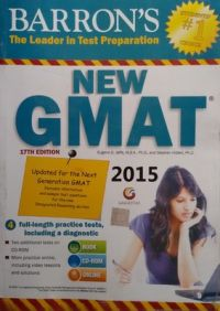 Barron's New GMAT - 2015 (With CD) (English) 17th Edition (Paperback): Book by Eugene D. Jaffe, Stephen Hilbert