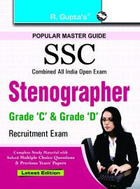 SSC: Stenographer (Grade 'C' and 'D') Recruitment Exam: Book by RPH Editorial Board