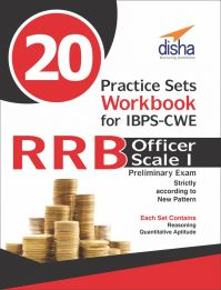 20 Practice Sets Workbook for IBPS-CWE RRB Officer Scale 1 Preliminary Exam: Book by Disha Experts