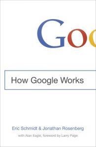 How Google Works (English) (Hardcover): Book by Eric Schmidt Jonathan Rosenberg
