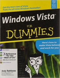 Windows Vista For Dummies (English) 01 Edition (Paperback): Book by Andy Rathbone