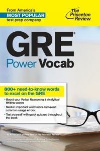 GRE Power Vocab (English) (Paperback): Book by Princeton Review