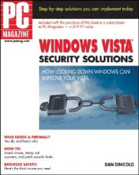 PC Magazine Windows Vista Security Solutions: Book by Dan DiNicolo