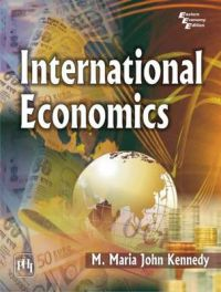 INTERNATIONAL ECONOMICS: Book by KENNEDY M. MARIA JOHN