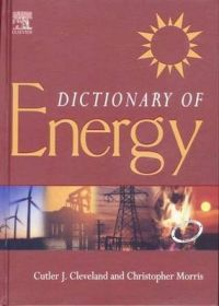 Dictionary of Energy: (South Asia Edition): Book by Cutler J. Cleveland