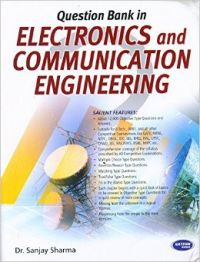 Question Bank In Electronics And Communication Engineering (English) 1st Edition: Book by Sanjay Sharma